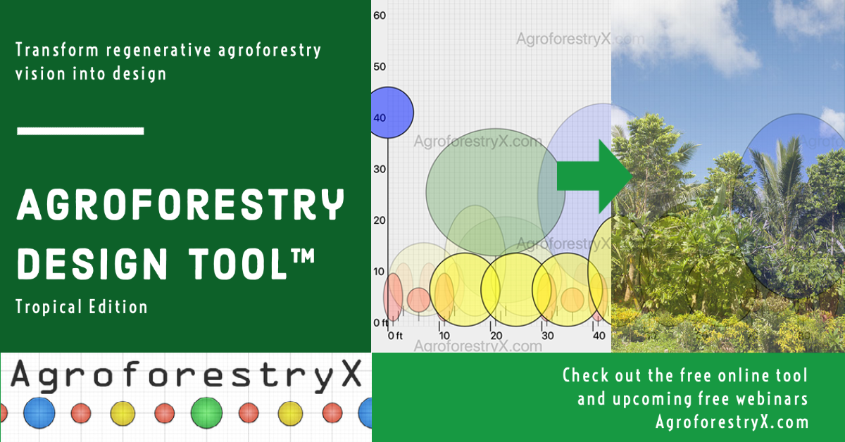Agroforestry Design Tool release graphic